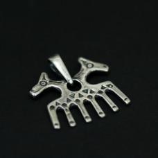Гребень подвеска (серебро) 754