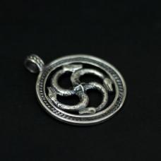 Змеевик-коловрат (серебро) 960