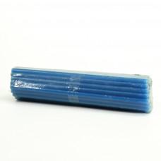 Свеча парафиновая голубая 50 шт в пачке